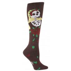 Funky Knee High Socks - Dia de los Muertos