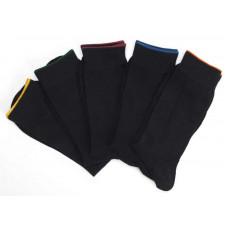 Herrstrumpa Plain 5-pack Multi colour