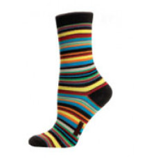 Ladies sock Multistripe